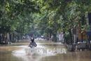 Mưa lớn gây ngập cục bộ và chia cắt Quốc lộ 18A (Quảng Ninh)