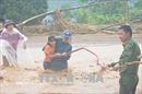 Hình ảnh Yên Bái ngập chìm trong mưa lũ