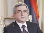 Armenia công nhận kết quả bầu cử tổng thống mới