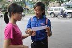 Gần 75% thí sinh đến làm thủ tục dự thi
