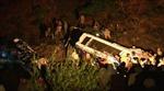 Xe khách lao sông tại Pakistan, gần 20 người thương vong