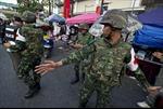 Súng lại nổ tại thủ đô Bangkok