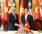 Thủ tướng Nguyễn Tấn Dũng hội đàm với Thủ tướng Malaysia