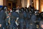 Ukraine: Những kẻ lạ mặt tấn công đài truyền hình Donetsk