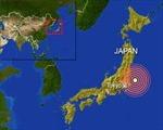 Động đất mạnh 6,2 độ Richter gần Tokyo
