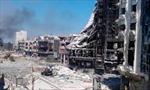 Syria: Thành phố Homs sạch bóng quân nổi dậy