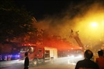 Cháy lớn tại khu dân cư ở Đà Nẵng