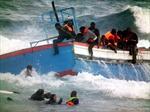 Đắm tàu tại Libya, 85 người nhập cư thiệt mạng