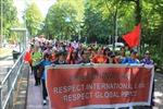 Người Việt tại Hà Lan tuần hành phản đối Trung Quốc