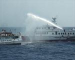 90 tàu các loại của Trung Quốc tìm cách bảo vệ giàn khoan
