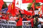 Bạn bè quốc tế tiếp tục ủng hộ Việt Nam