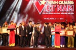 """Học viện Công nghệ BCVT được vinh danh tại """"Vinh Quang Việt Nam"""""""
