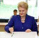 'Bà đầm thép' Dalia tái đắc cử Tổng thống Litva