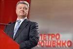 Tỷ phú Poroshenko giành được gần 54% phiếu bầu