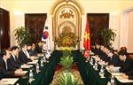 Tăng cường hợp tác quốc phòng với Hàn Quốc
