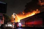 Cháy lớn tại Xí nghiệp Bản đồ Đà Lạt