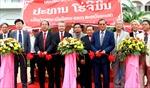 Khánh thành khuôn viên tưởng niệm Chủ tịch Hồ Chí Minh tại Lào