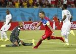 Cả 3 lần dự World Cup, Ghana đều chạm trán Mỹ