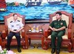 Phó Giám đốc Học viện Liên quân Nhật Bản thăm Việt Nam