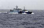 Tàu Trung Quốc dàn 2 vòng ngăn cản tàu Kiểm ngư Việt Nam