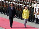 Chủ tịch Trung Quốc Tập Cận Bình thăm Hàn Quốc