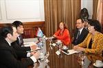 Phó Chủ tịch Quốc hội Nguyễn Thị Kim Ngân thăm Argentina