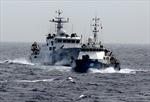 Trung Quốc tăng tàu quân sự bảo vệ giàn khoan