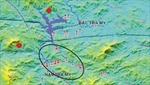 Lại xuất hiện động đất tại Quảng Nam