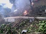 Máy bay trực thăng rơi, 16 chiến sỹ hy sinh