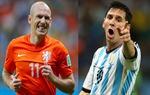 Chìa khóa là Robben và Messi