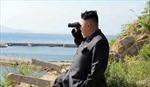 Ông Kim Jong Un chỉ đạo diễn tập bắn rocket chiến thuật