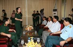Truy tặng Huân chương Chiến công cho các chiến sỹ hy sinh trong vụ rơi trực thăng
