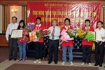 Bốn học sinh Việt Nam đều có giải Olympic Sinh học quốc tế