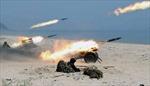 Ông Kim Jong Un đích thân chỉ đạo diễn tập pháo kích