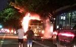Nổ xe buýt ở Quảng Châu, hơn 25 người thương vong