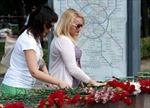 Moskva để tang các nạn nhân vụ tai nạn tàu điện