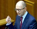 Thủ tướng Yatseniuk chính thức đệ đơn từ chức lên Quốc hội