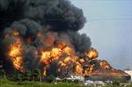 Cháy kho chứa dầu khổng lồ ở Libya