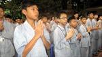 Giới trẻ học tu ngắn hạn tại chùa
