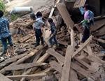 Cảnh tan hoang sau động đất ở Vân Nam, Trung Quốc