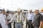 Phó Thủ tướng Hoàng Trung Hải thị sát dự án Metro TPHCM