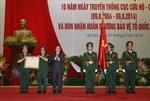 Trao tặng Huân chương Bảo vệ Tổ quốc hạng Nhì cho Cục Cứu hộ-Cứu nạn
