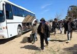 Nhóm lao động trong vùng nguy hiểm ở Libya sẽ về hết Việt Nam giữa tháng 8