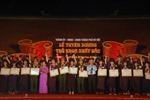 Hà Nội tuyên dương 132 thủ khoa
