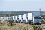 Mỹ lên án vụ pháo kích đoàn xe chở người tị nạn Luhansk
