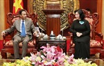 Phó Chủ tịch Quốc hội Nguyễn Thị Kim Ngân tiếp Đại sứ các Tiểu Vương quốc Arập thống nhất