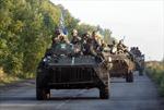 Quân đội Ukraine tấn công trung tâm Donetsk