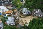 Nhật Bản: Thương vong trong vụ sạt lở đất tăng mạnh