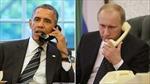 Putin–Obama mới điện đàm 10 lần trong năm