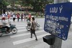 Hà Nội cấm ô tô vào đường Xuân Thủy từ hôm nay